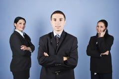 Líder do homem de negócio Imagens de Stock
