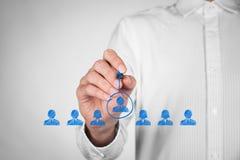 Líder e CEO Imagens de Stock