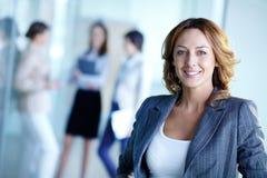 Líder feliz Fotos de Stock