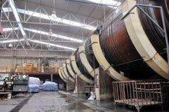 läderproduktion Royaltyfri Foto
