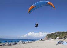 Lądować na plaży Obraz Royalty Free