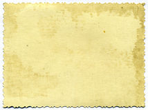 åldras paper fotografiskt Arkivbild