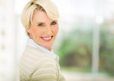 åldrig medelkvinna Royaltyfria Bilder