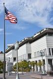 LDS会议中心在盐湖城,犹他 免版税图库摄影