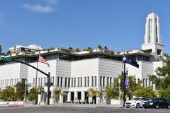 LDS会议中心在盐湖城,犹他 免版税库存图片