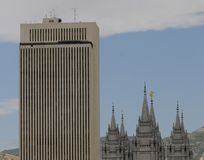 LDS buildings Stock Photos