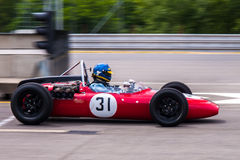 LDS 3. Historic racing car photographed during Brno Grand Prix Revival event on 5 July 2014 in Automotodrom Brno, Czech Republic Royalty Free Stock Photo