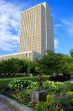 LDS-kerkhoofdkwartier die Salt Lake City, Utah inbouwen Royalty-vrije Stock Foto