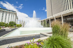 LDS main office building Royalty Free Stock Photography