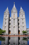 LDS Mormon Temple. In Salt Lake City Royalty Free Stock Photos