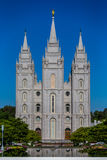 LDS Mormon Temple In Salt Lake City Utah Stock Photos