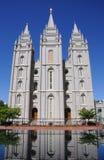 LDS mormonischer Tempel Lizenzfreie Stockfotos