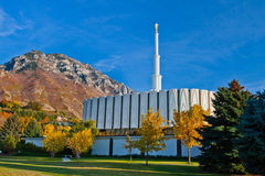 LDS Provo Temple Stock Photo