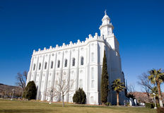 LDS St George Temple Royalty Free Stock Photos