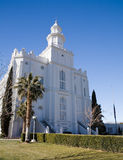 LDS St George Temple Royalty Free Stock Photo