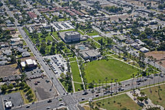 LDS Tempe from above Stock Photo
