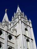 LDS-tempel i Salt Lake City Utah arkivfoton