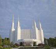 LDS Temple--Washington, DC Royalty Free Stock Photos