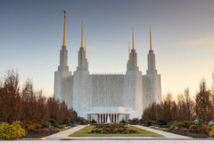 LDS Temple Washington DC Area Royalty Free Stock Photography