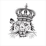 Leão. ilustração stock