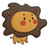 Leão bonito do bebê Ilustração Stock