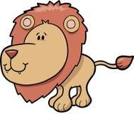 Leão bonito do safari ilustração stock
