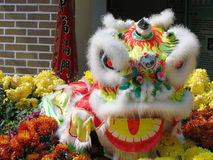 Leão chinês Foto de Stock Royalty Free