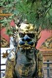 Leão chinês imagens de stock royalty free