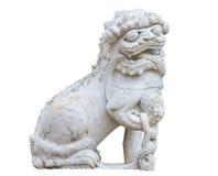 Leão chinês de pedra Foto de Stock Royalty Free