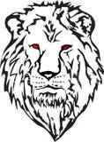 Leão da cabeça da imagem do vetor Fotos de Stock Royalty Free