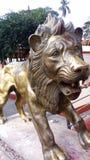 Leão da estátua imagem de stock
