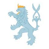 Leão da heráldica Imagens de Stock