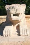 Leão de Anitkabir, Ancara Fotografia de Stock