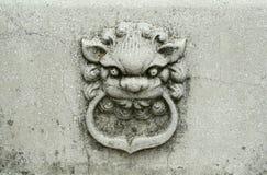 Leão de pedra Fotos de Stock Royalty Free
