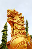 Leão de temple2 Fotografia de Stock Royalty Free