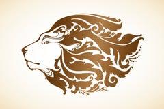 Leão decorativo decorativo Fotografia de Stock Royalty Free