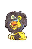 Leão do brinquedo da pintura Fotos de Stock