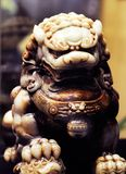 Leão do jade Imagens de Stock