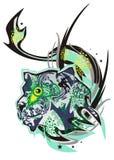 Leão do monstro Imagem de Stock