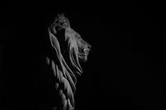 Leão do nada do al de Qasr do Cairo foto de stock
