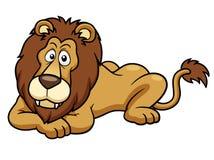 Leão dos desenhos animados Fotografia de Stock Royalty Free