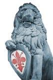 Leão em Florença Imagem de Stock