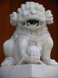 Leão em Jing um templo fotografia de stock