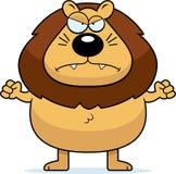 Leão irritado Foto de Stock Royalty Free