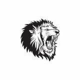 Leão principal Imagem de Stock Royalty Free