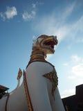 Leão tailandês da arte Imagens de Stock