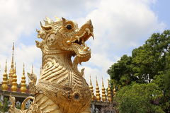 Leão tailandês Stetue Imagens de Stock