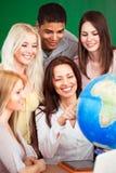 Leçon de géographie Photo libre de droits