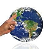 leçon de géographie Photographie stock libre de droits
