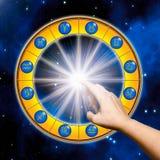 Leçon de l'astrologie illustration de vecteur